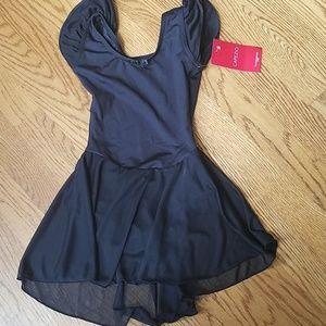 Capezio Flutter Sleeve Dress
